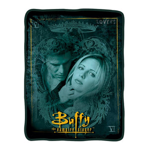 Buffy the Vampire Slayer Buffy/Angel Fleece Blanket