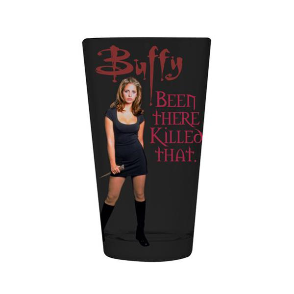 Buffy the Vampire Slayer Been There Killed That Pint Glass