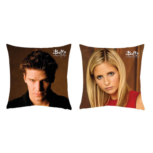 Buffy the Vampire Slayer Angel/Buffy Pillow