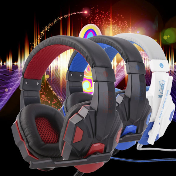 New 3.5mm Surround Stereo Gaming Headset