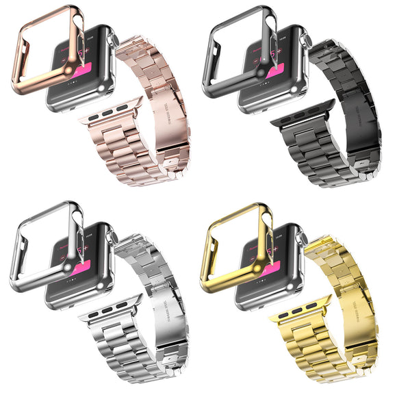 5 Colors Stainless Steel Strap For Apple Watch