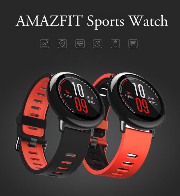 Original Xiaomi Huami Watch AMAZFIT Pace Sports Smart Watch English Version Bluetooth 4.0 Heart Rate Monitor GPS For Android IOS