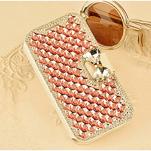 Top Quality  3D Bling Crystal Rhinestone cover