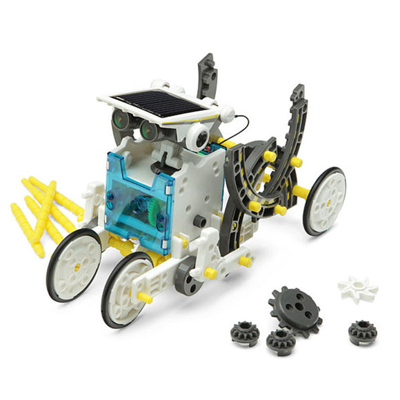 14 In 1 Solar Powered Robot Educational