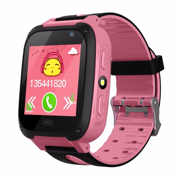 Children Smart Watch SOS Emergency Alarm Camera Anti-Lost Watch For Kids Safe