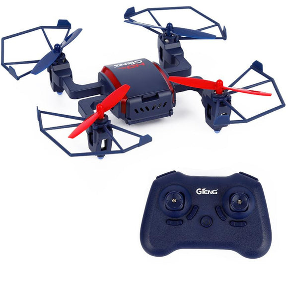 Mini Drone  GTENG T901C 2.4Ghz 6 Axle Gyro 4 Channel RC Drone 200W 720P HD Camera
