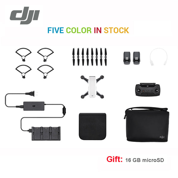 DJI Spark fly more combo drone 1080P HD Camera Drones ( Gift: 16GB MicroSD ) five color In stock