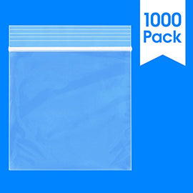 "3"" x 3"" Reclosable Zip Lock Plastic Clear Poly Bag 2 Mil"