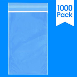 "3"" x 5"" Reclosable Zip Lock Plastic Clear Poly Bag 2 Mil"