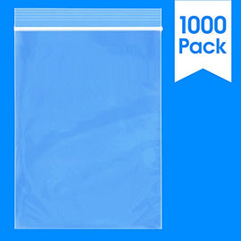 "5"" x 7"" Reclosable Zip Lock Plastic Clear Poly Bag 2 Mil"