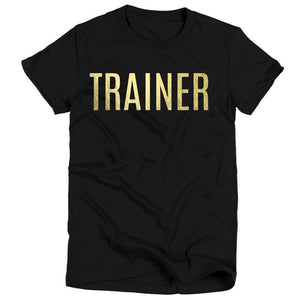 Trainer  - Gold Foil T-Shirt