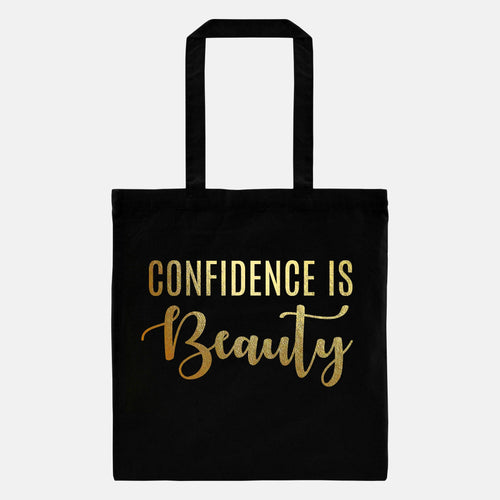 Convenience is Beauty - Gold Foil Tote Bag