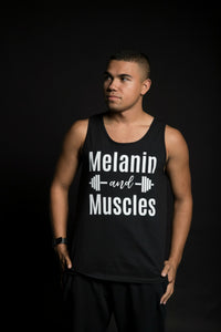 Melanin and Muscles - Men Tank Top