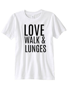 Love Walk Lunges