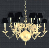 Georgian Double Tier Chandelier