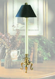 Petite Tri-Footed Candlestick Lamp
