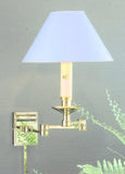 Adjustable Rectangular Tube Swing Arm Wall Lamp