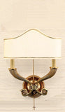 DIGNIFIED SIMPLICITY Two-Arm Empire Sconce