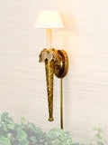 Crisscross Tapered Column Sconce