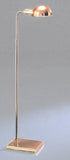 Adjustable Floor Lamp with Rectangular Beveled Base