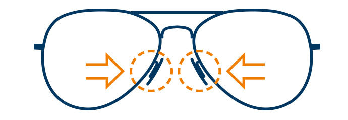 How To Adjust Your Glasses Mad About Specs Glasses Online