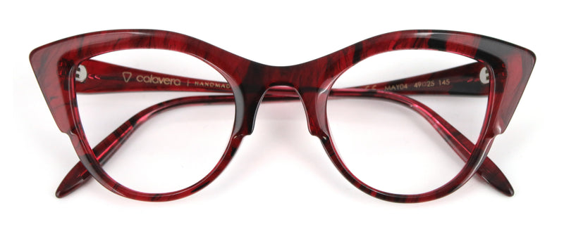 f885066b24 Mayreau Reggina - Red Cat Eye – Mad About Specs - Glasses Online