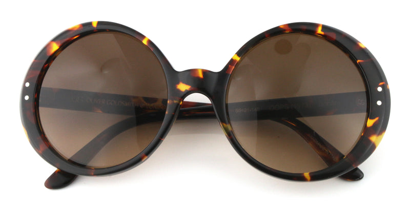0a45f76437e Oops (1973) Bonfire - Oliver Goldsmith Round Retro Sunglasses – Mad ...