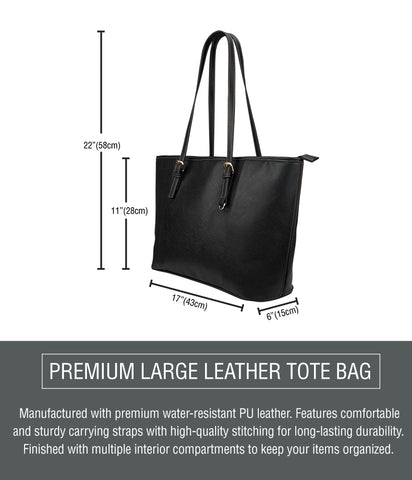 Large Leather Tote Dimensions