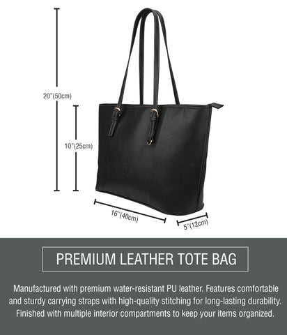 Small Leather Tote Details
