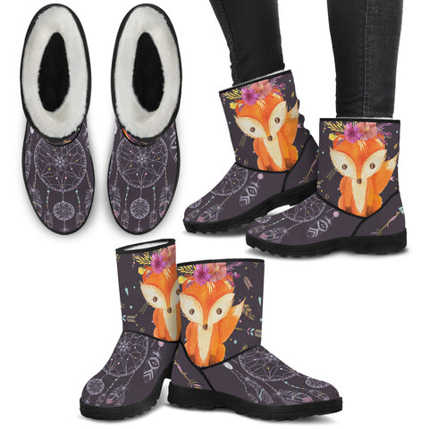 Fox Love Furry Boots