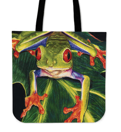 Look At Me!  Frog Tote