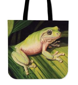 Just Blending In! Frog Tote