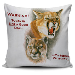 Don't Mess With Me! Pillow Cover