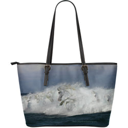 Large Leather Mystical Horse Zipper Tote Collection - Exclusively Licensed Artwork - Choice of 4 Large Custom Tote Bags