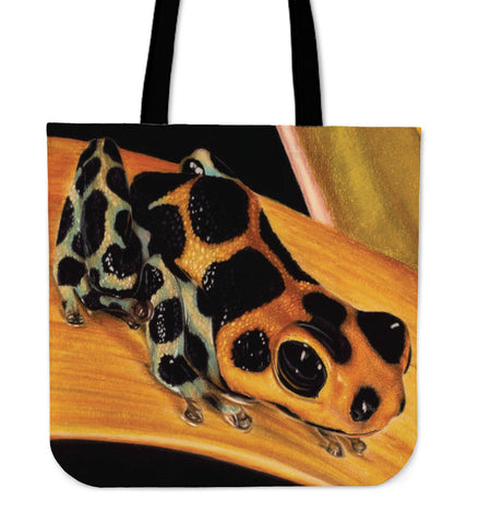 Don't Eat Me! Frog Tote