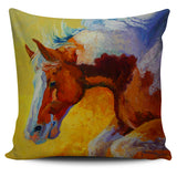 Marion Rose Horse Pillow Cover Collection #1 - 8 Images
