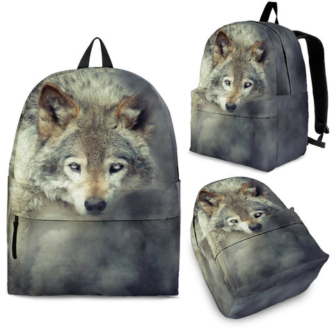 Amazing 3D Wolf Backpack - Cool Backpacks - Backpacks for College - 3 Sizes - 2 Images