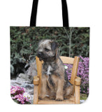 Border Terrier Love Totes - 5 Designs