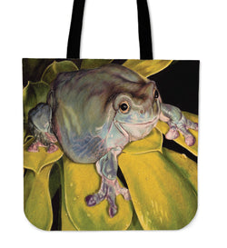 Got Bugs?  Frog Tote