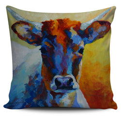 Marion Rose Cow Pillow Cover Collection - 9 Images