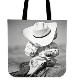 Cowboy Tote Collection - 8 Unique Images
