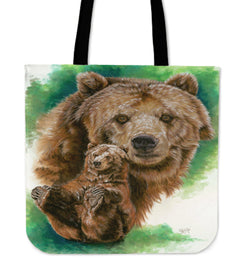 Bear Tote Collection - 4 Gorgeous Images