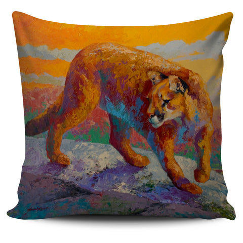 Marion Rose Cougar Pillow Trio