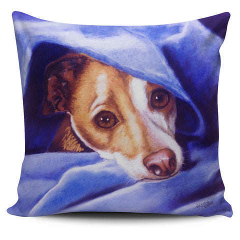 Dog Lover's Pillow - Cold?  Who me?