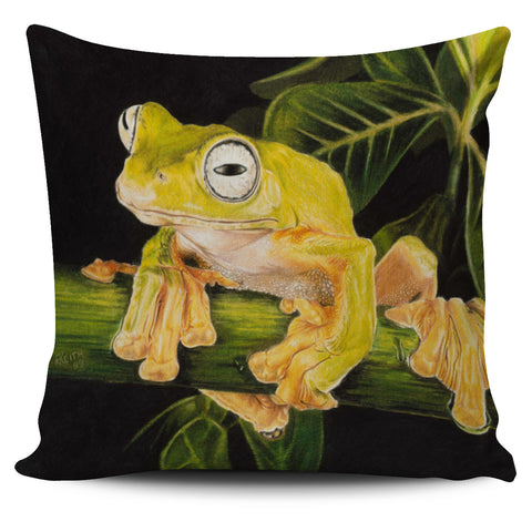 Happy Tree Frog Pillow