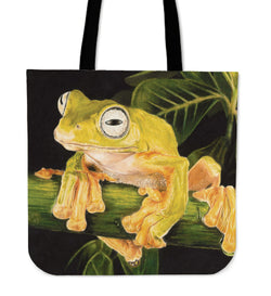 Happy Tree Frog Tote