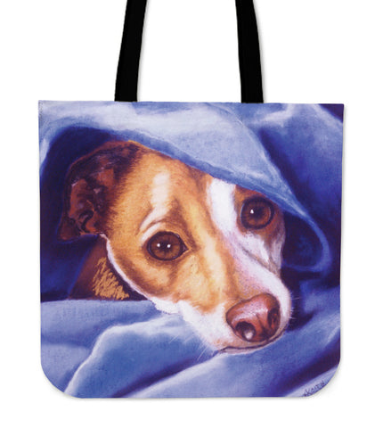 Dog Lover's Tote - Color or B&W