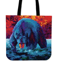 Marion Rose Black Bear Tote Collection - 11 Images