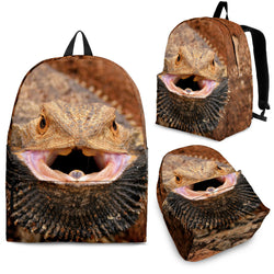 Bearded Dragon Lizard Backpack - 3 Sizes