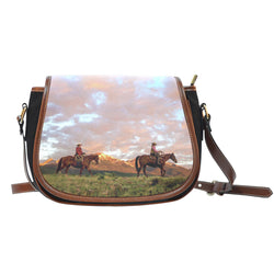 On The Range Saddle Bag Purse - 3 Images
